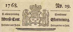 Adressa-heading-1768-07-22